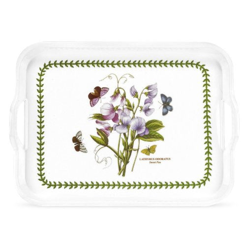 "Handled Tray (Sweet Pea) 17.5"" x 13"""
