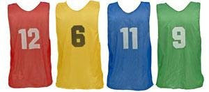Champion Sports Youth Numbered Practice Vests