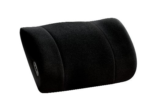 Lumbar Support with Massage Obusforme Black (Side to Side)