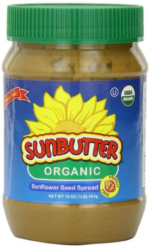 Organic Sunflower Seed Spread 16.0 OZ (Pack of 3)