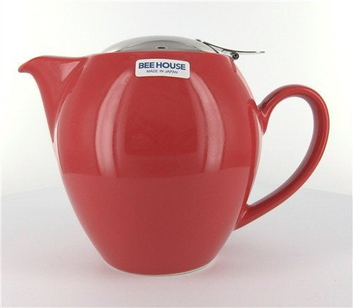 Round Cherry Teapot 22 Ounces