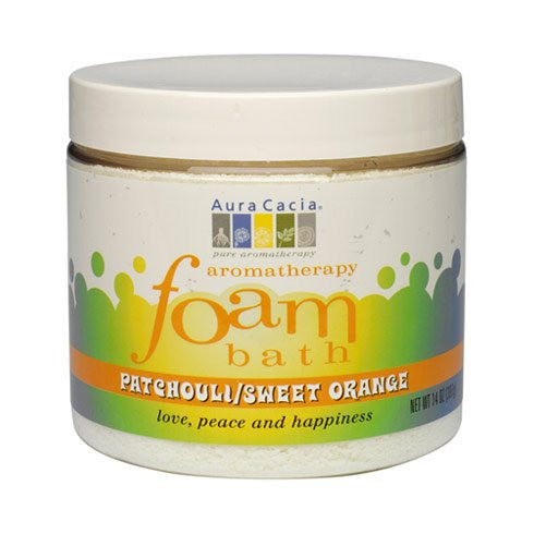 Aura Cacia Foam Bath Patchouli Orange 14.0 OZ