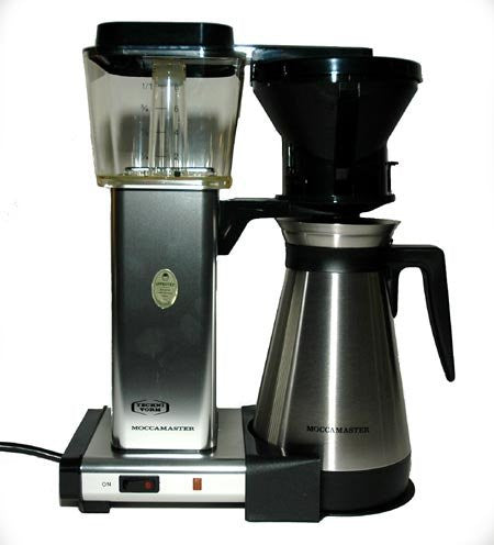 Technivorm Moccamaster Coffee Brewer With Thermo Carafe