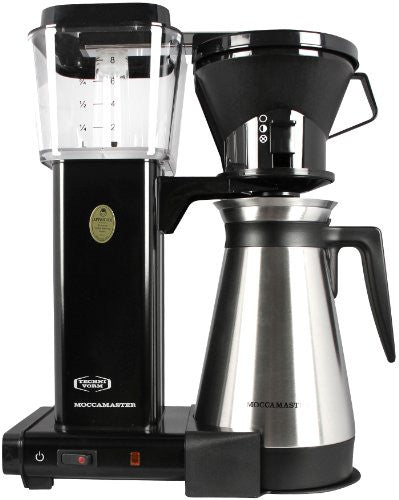 Technivorm Moccamaster Coffee Brewer Black/Thermo Carafe - Technivorm 9586