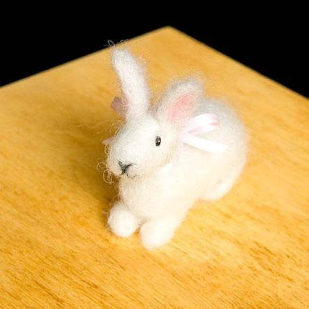 Bunny Wool Needle Felting Craft Kit