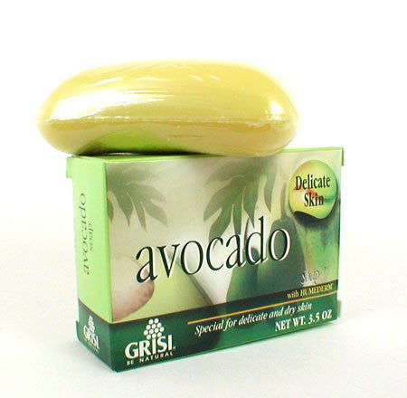 Grisi Natural Avocado Soap with Humederm - 3.5 Oz.