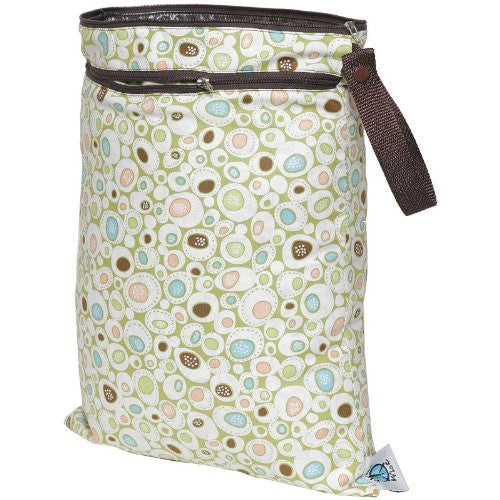 Planet Wise Wet/Dry Diaper Bag (Color: River Rock)