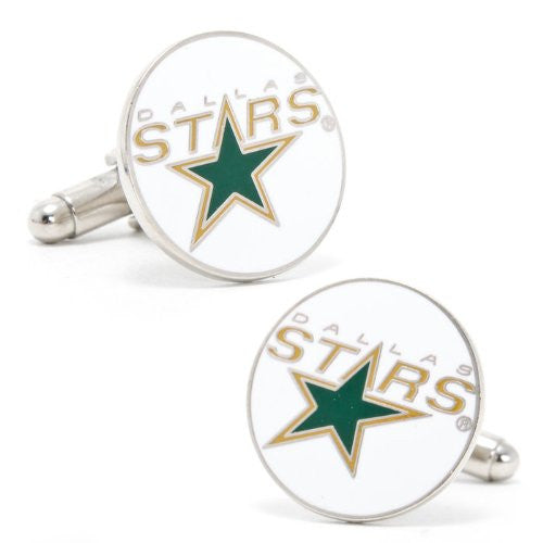 Cufflinks Inc Edmonton Oilers Cufflinks (Color: Dallas Stars)