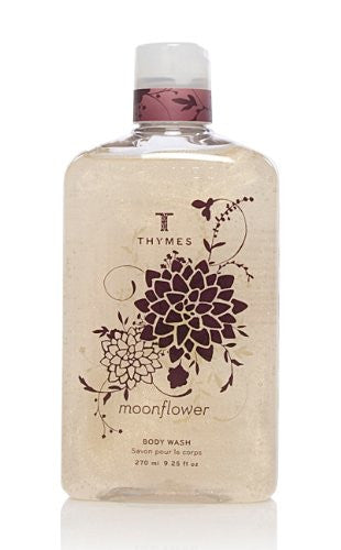 Thymes Body Wash, Moonflower, 9.25-Ounce Bottle