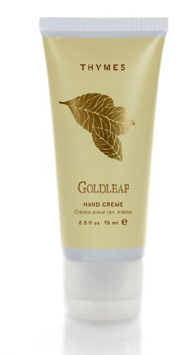 Thymes Hand Crème, Goldleaf, 2.5-Ounce Tube