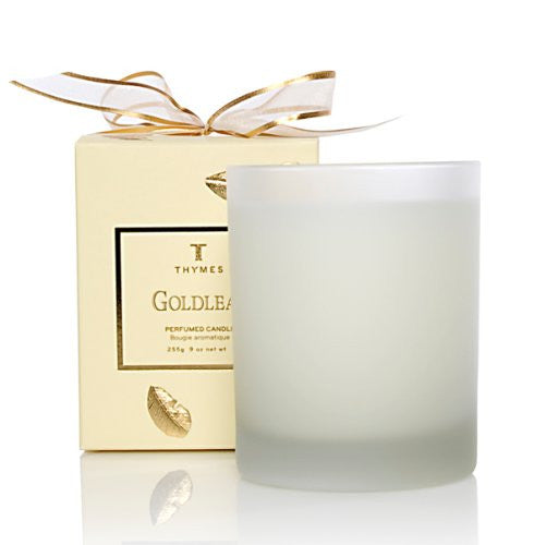 Thymes Poured Aromatic Candle, Goldleaf