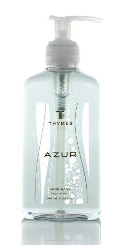 Thymes Hand Wash, Azur, 8.25-Ounce Pump Bottle
