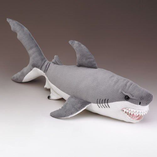 XL Great White Shark Stuffed Animal 25 Inches Long