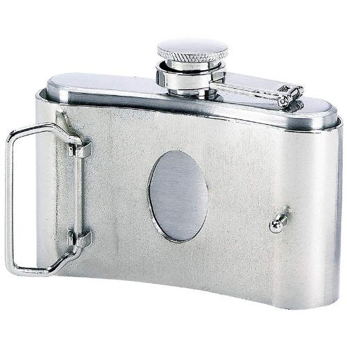 Maxam Ss Belt Buckle Flask