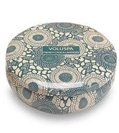JAPONICA, Decorative 3 Wick Candle inTin/French Cade  Lavender, 12oz Tin