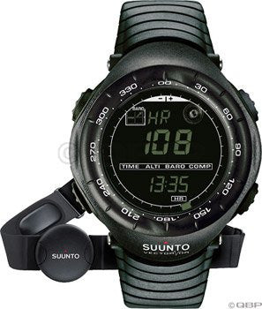 Vector HR Wristop Computer Watch (Color: Black)