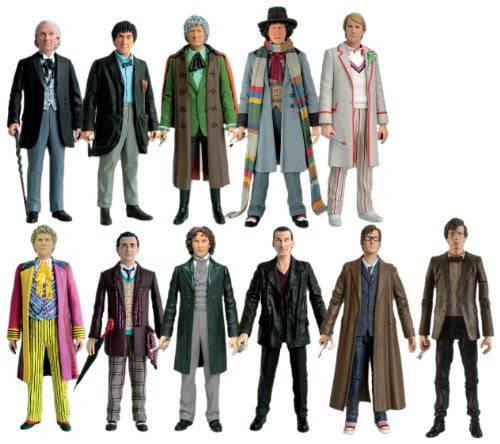 Action Figure Set / Eleven Doctors Collector's Set