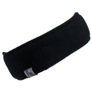 Original Turtle Fur Fleece - 'Turtle Band', Headband, Black