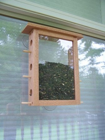 See Through Window Feeder