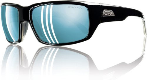 Touchstone Black with Polarized Blue Mirror Lens