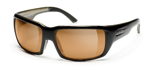 Touchstone Black  with Polarchromic Copper Mirror Lens