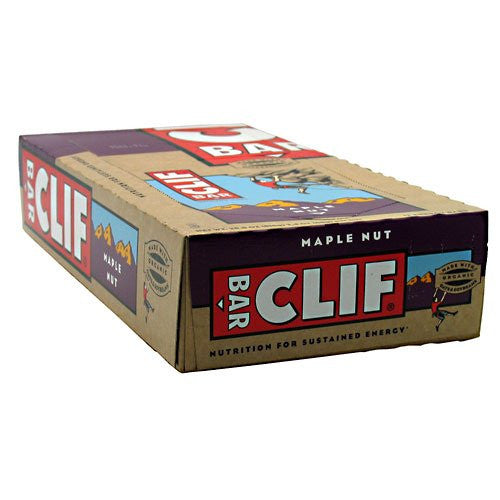 Clif Bar Maple Nut Bar 2.4 OZ (Pack of 12)