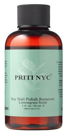 Treatments and Apothecary - Soy Nail Polish Remover w/ Lemongrass Scent 2 oz.
