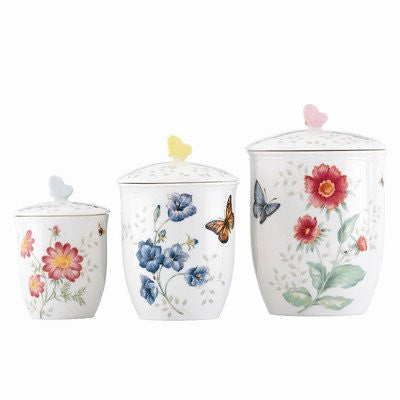 BUTTERFLY MEADOW CANISTER S/3