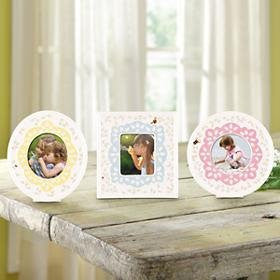 BUTTERFLY MEADOW COLORS FRAMES S/3