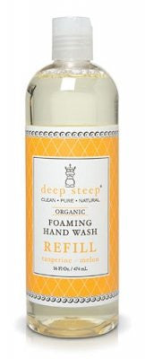 Deep Steep Foaming Hand Wash Refill, Tangerine Melon, 16 Ounce