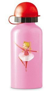 Crocodile Creek 13.5 oz 13.5 oz Stainless Steel  Reusable Drinking Bottle - Ballerina