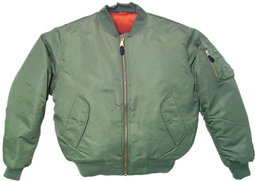MEN'S MA-1 FLIGHT JACKET- SAGE S