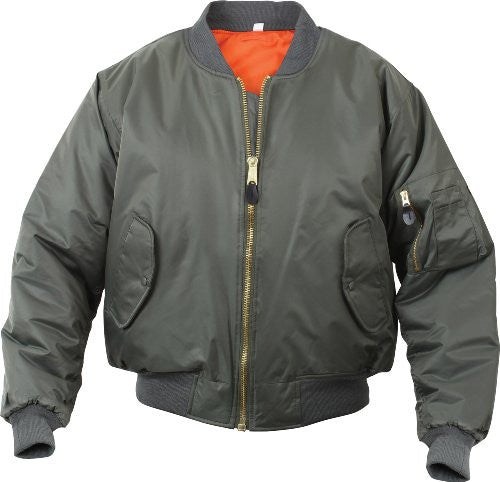 MENS MA1 FLIGHT JACKET SAGE M