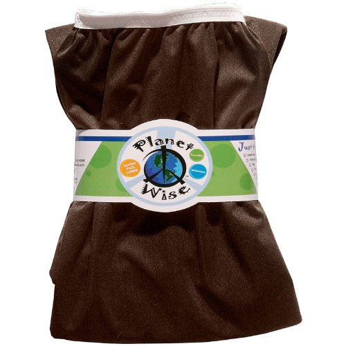 Planet Wise Diaper Pail Liner (Color: Dark Chocolate)