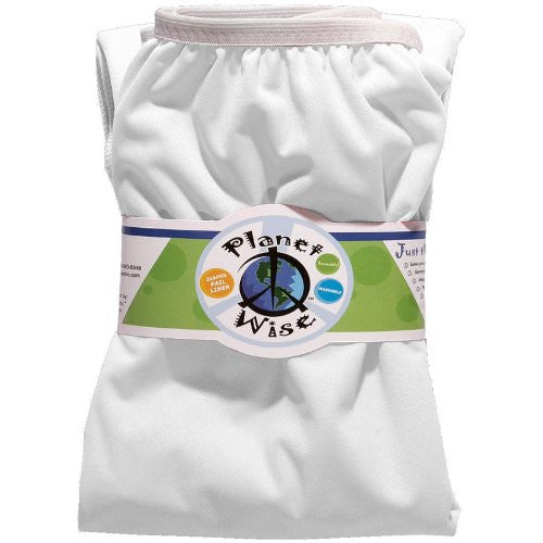 Planet Wise Diaper Pail Liner (Color: White)