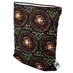 Planet Wise Wet Diaper Bag, Outer Space, Medium