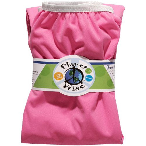 Planet Wise Diaper Pail Liner (Color: Raspberry)
