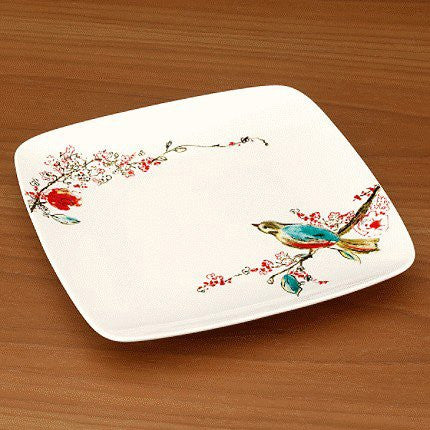 CHIRP SQUARE ACCENT PLATE