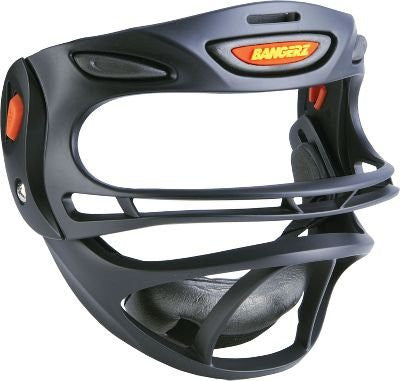 FULLY ADJUSTABLE SPORTS SAFETY MASK - Black