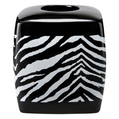 Zebra  Tissue Black & White