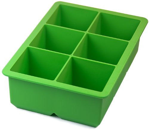 Tovolo King Cube Ice Tray - Lime