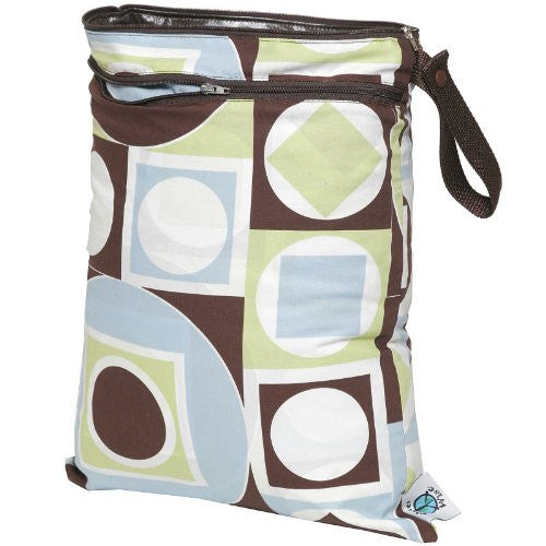 Planet Wise Wet/Dry Diaper Bag (Color: Geometric Studio)