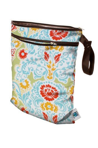 Planet Wise Wet/Dry Diaper Bag (Color: Paprika)