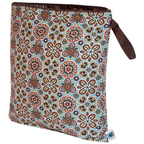 Planet Wise Wet Diaper Bag, Fiesta, Large