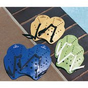 Water Gear Stroke Master Hand Paddles (MEDIUM-GOLD)