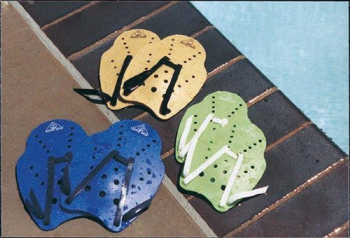 Water Gear Stroke Master Hand Paddles (SM-GREEN LOGO)