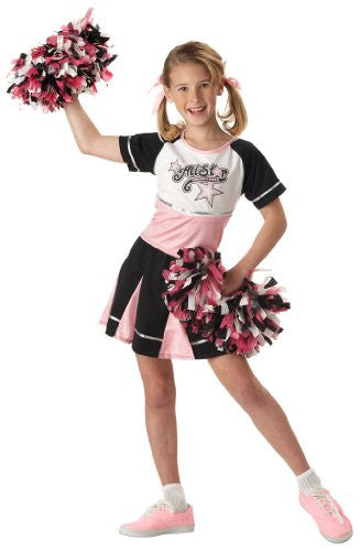 All Star Cheerleader/Child - Black/Pink (S 6-8)