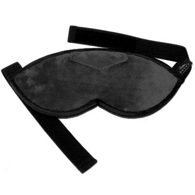 Bucky  Shades Fun Faux Fur Sleep Mask With Earplugs