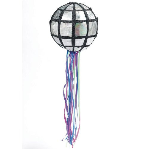 Disco Ball Pull-String Pinata (Size: One Size Color: As Shown)