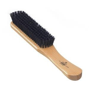 Kent Handcrafted Clothes Brush Black Bristle